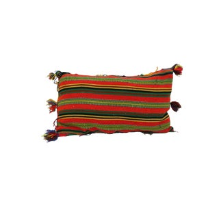 """Vintage Boho Chic Moroccan Pillow - 24""""x15"""" For Sale"""