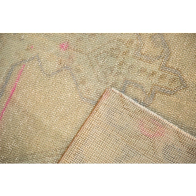 Vintage Distressed Oushak Rug - 4' x 7' - Image 8 of 11