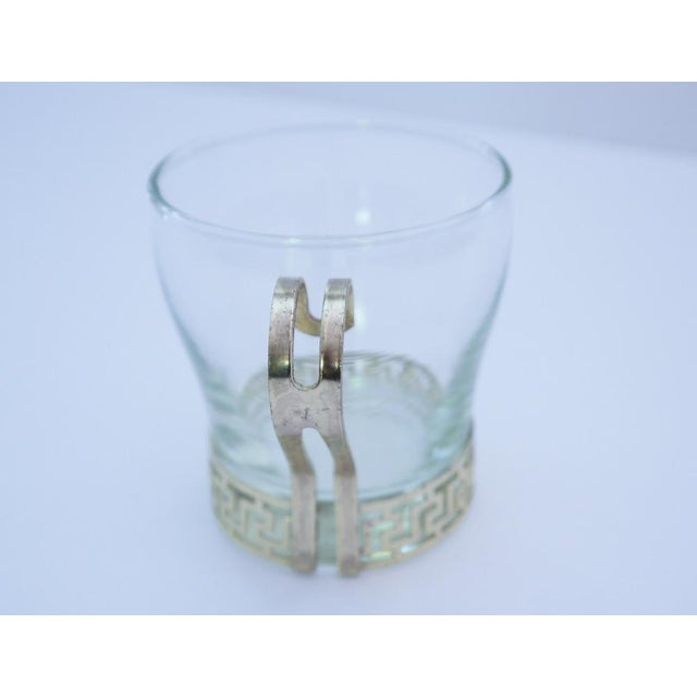 Art Deco Greek Key Coffee Cups - A Pair For Sale - Image 5 of 5
