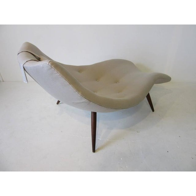 Rare Adrian Pearsall Chaise Lounge Chair For Sale In Cincinnati - Image 6 of 10