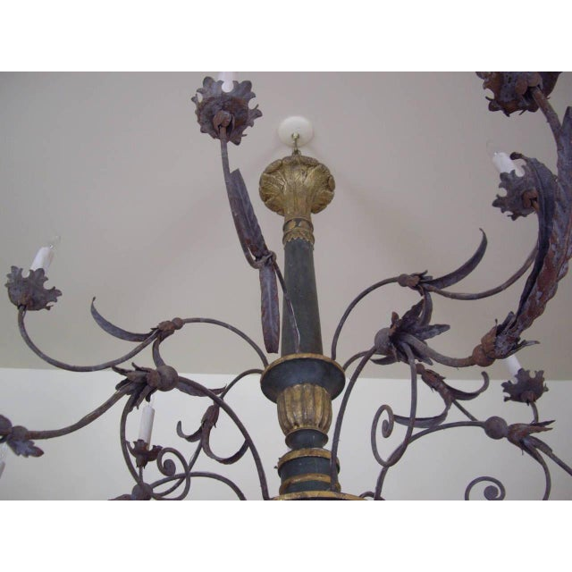 Very Large Late 18th/19th Century Italian Chandelier For Sale - Image 9 of 11