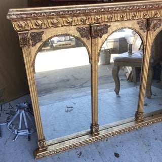 Neoclassical Arch Detail Gilded Mirror Preview