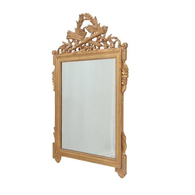 Neoclassical Style Giltwood Mirror - Image 2 of 5