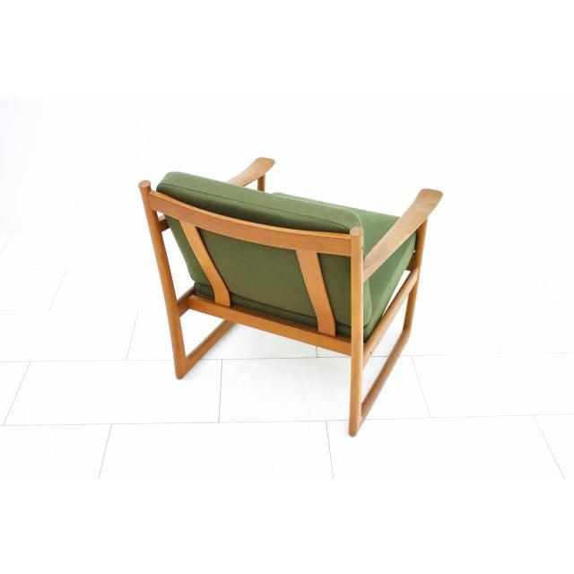 1960s Peter Hvidt & Orla Molgaard Nielsen Teak Lounge Chair, Denmark 1961 For Sale - Image 5 of 6