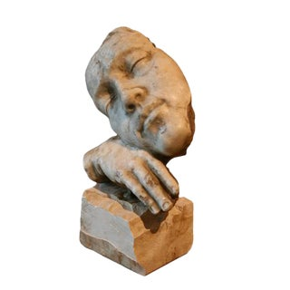 1940s Italian Marble Figural Sculpture From Rome