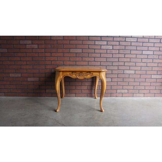 Late 20th Century 20th Century Country French End Table For Sale - Image 5 of 5
