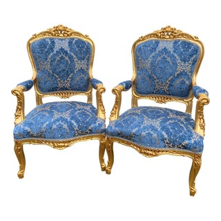 1940s French Louis XVI Chairs - a Pair For Sale