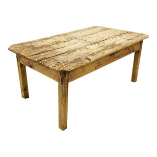 Antique Farmstead Coffee Table For Sale