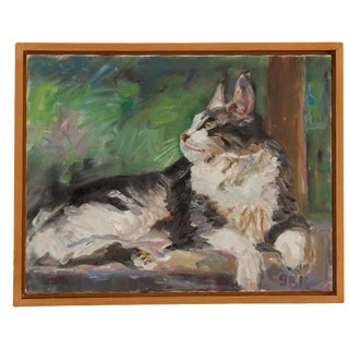 "Grace B. Keogh ""Judy's Cat"" Painting For Sale"