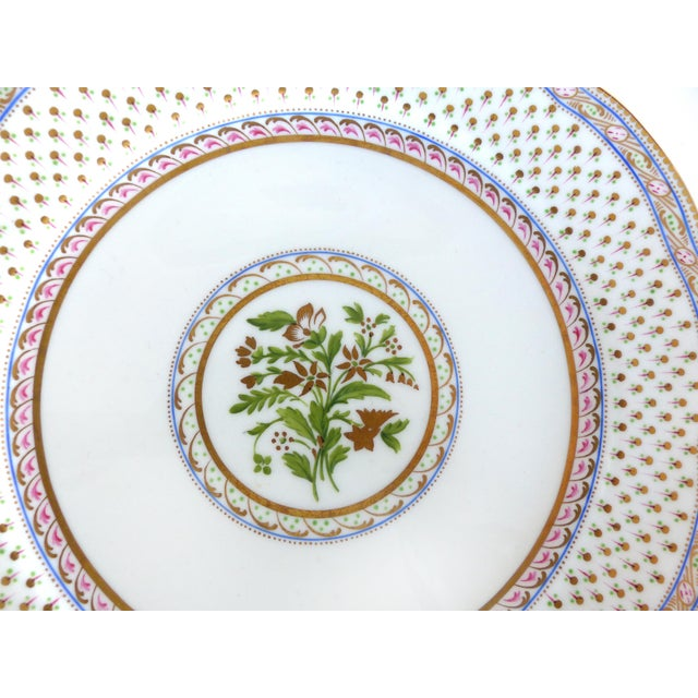 Mid 20th Century Cauldon England for Tomas Goode Fine China Luncheon/Dessert Service For Sale - Image 5 of 9