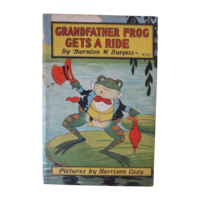 Grandfather Frog Gets a Ride 1st Ed. Book - Image 1 of 8