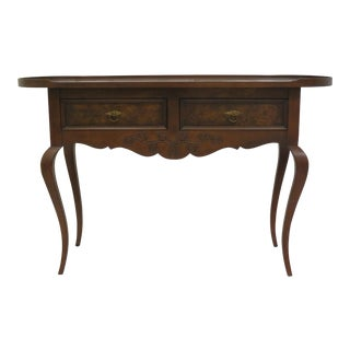 Tomlinson Furniture Walnut Burl Sideboard For Sale