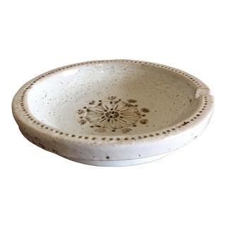 Albert Londi for Bitossi Attributed Italian Ceramic Ashtray For Sale