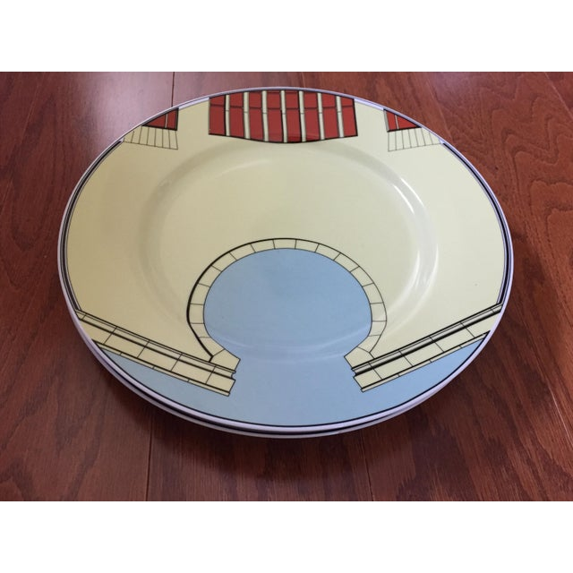 1980s Pastel Modern Chargers - Set of 5 For Sale In Baltimore - Image 6 of 13