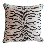 Image of White Tiger Pillow For Sale