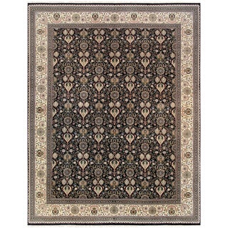 "Pasargad Tabriz Lamb's Wool Area Rug - 11'10"" X 15' 8"" For Sale"