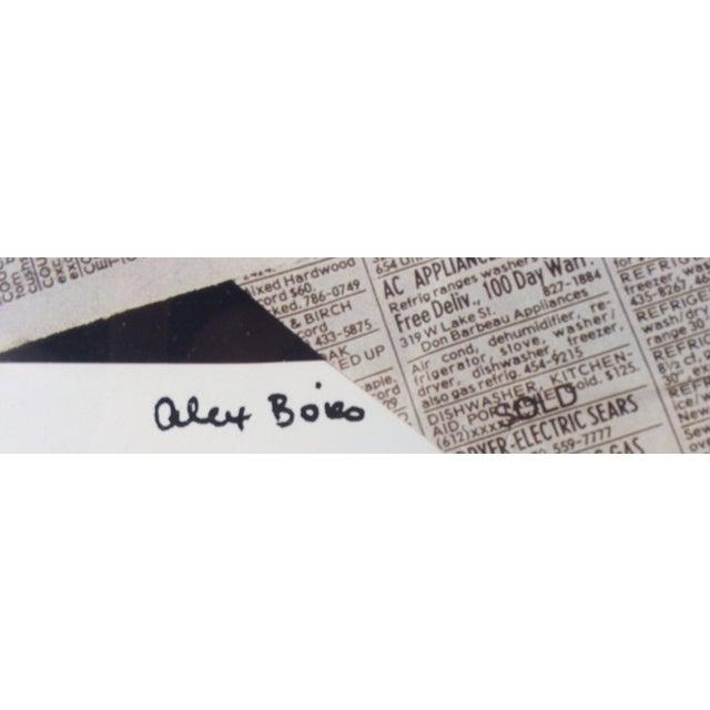 "Alex Boies Signed ""Bouquet"" Offset Lithograph For Sale - Image 5 of 6"