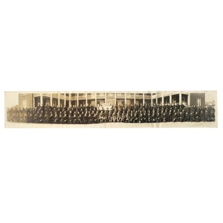 Panoramic Photo of Company G at Miller Field in New York For Sale