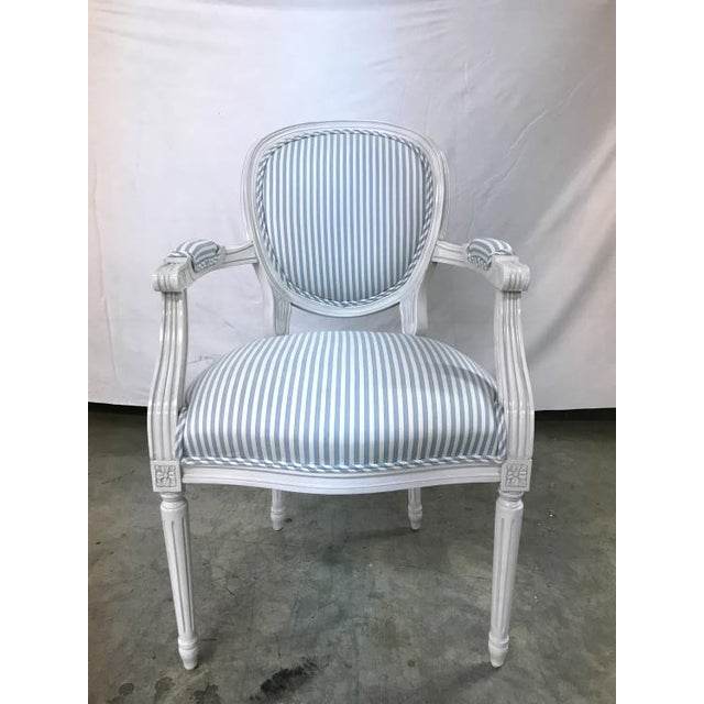 Highland House Highland House Anne Arm Chair For Sale - Image 4 of 4