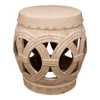 A Chinese Ceramic Garden Stool For Sale