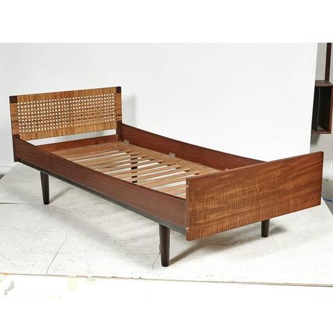 Teak 1960s Hans J. Wegner for GETAMA Danish Teak Child's Single Bed For Sale - Image 7 of 7