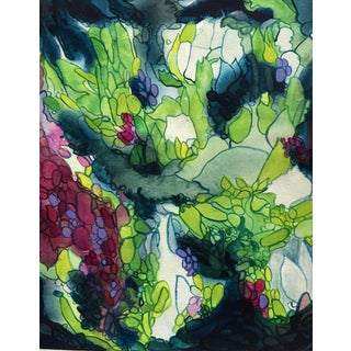 "Original Painting - ""Violet & Sage"""