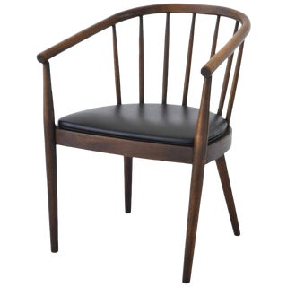 Midcentury Bentwood Side Chair by Lawrence Peabody for Richardson Nemschoff For Sale