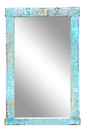 Image of Blue Full-Length and Floor Mirrors