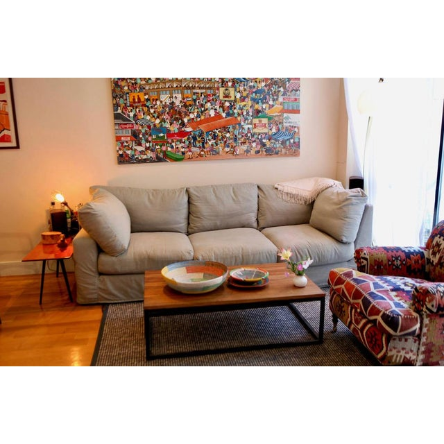 Changing up furniture in my place and selling this 3 year old couch / Sofa from ABC HOME Furnishings, it was originally...