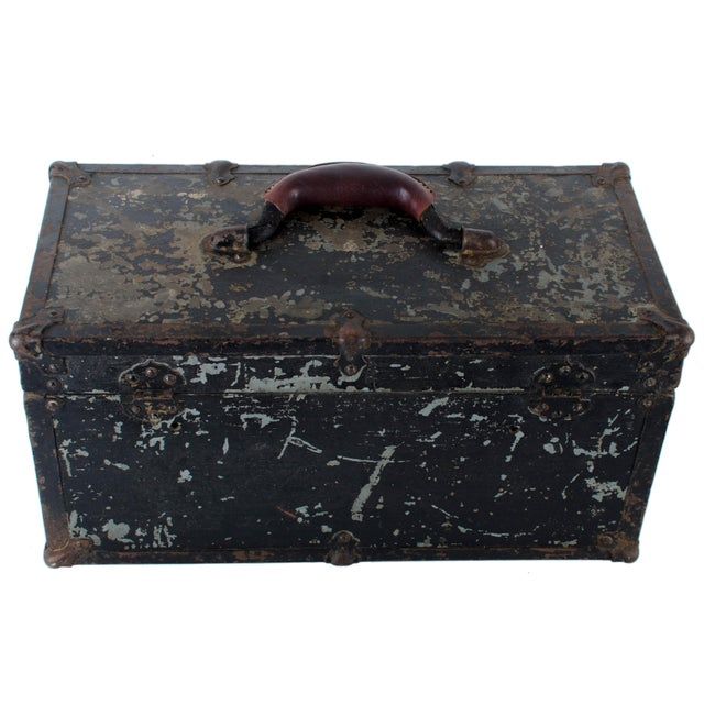 Vintage Union Tool Box For Sale - Image 9 of 10