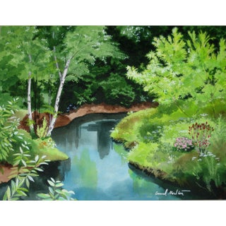 Contemporary Creek Giclee Print For Sale