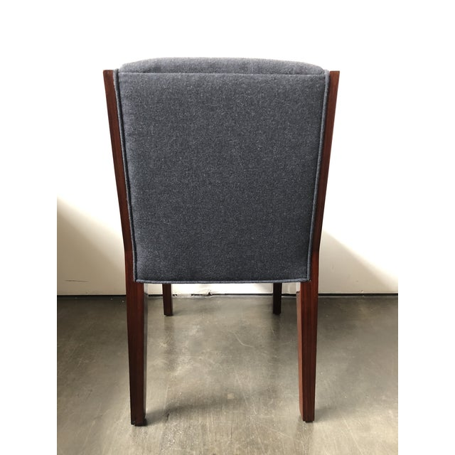 Modern Ralph Lauren Home Modern Metropolis Dining Chairs - Set of 8 Side Chairs For Sale - Image 3 of 13