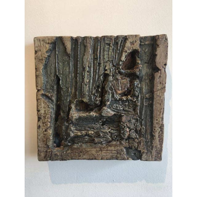 Wood Shaped Ceramic Art Sculpture - Image 3 of 5