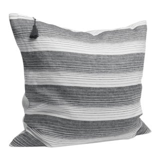 Cortina Black Stripe Pillow