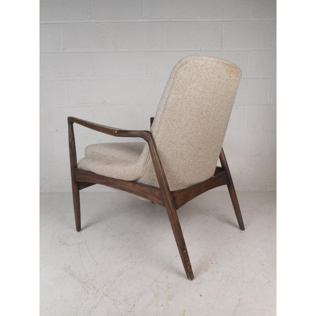 Contemporary Contemporary Modern Lounge Chair For Sale - Image 3 of 10