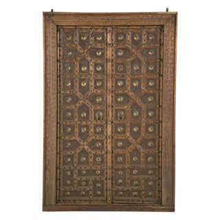 Antique African Doors - A Pair For Sale