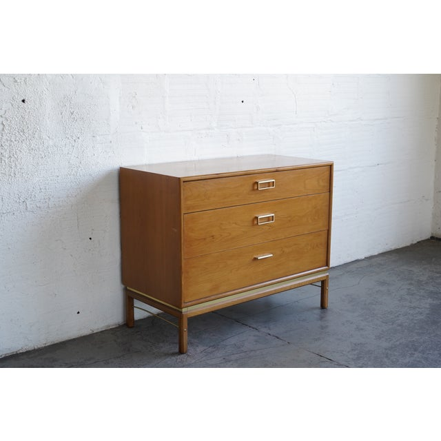 Glass top included. Sturdy dresser with 3 drawers. Second drawer is split into 3 sections - can be easily customized....