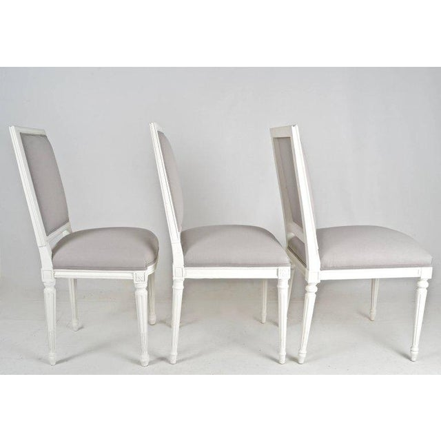 Louis XVI-Style Dining Chairs - Set of 8 - Image 8 of 8