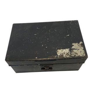 Antique Metal Spice Box For Sale