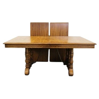 20th Century Spanish Revival Thomasville Segovia Dining Table For Sale