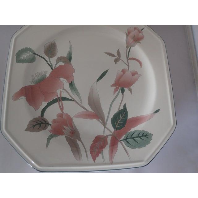 Mikasa continental silk flowers dinner plates set of 9 chairish mikasa continental silk flowers dinner plates set of 9 for sale in new york mightylinksfo