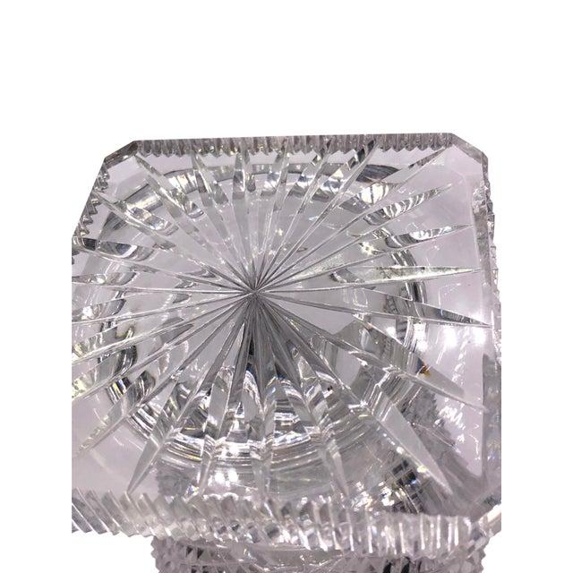 Antique English Regency Cut Crystal Vase For Sale In Dallas - Image 6 of 7