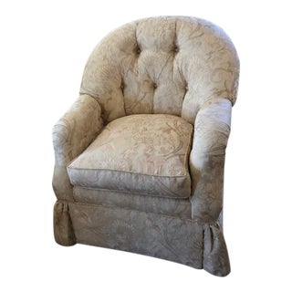 Traditional Robert Allen Victor Club Chair For Sale