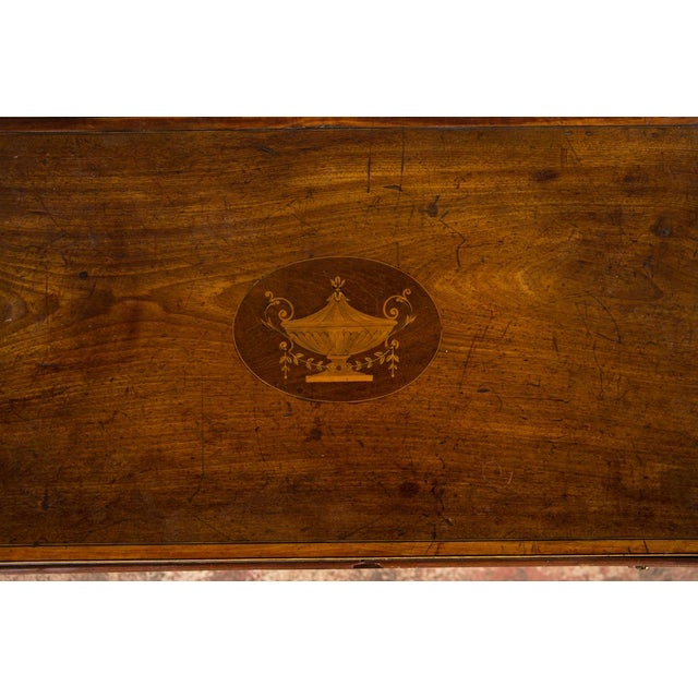 18th-Century Petite Georgian Inlaid Desk - Image 8 of 10