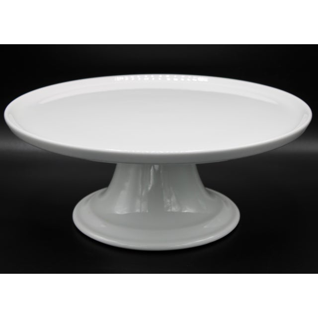 Mid Century Pillivuyt French Cake Stand For Sale - Image 11 of 11