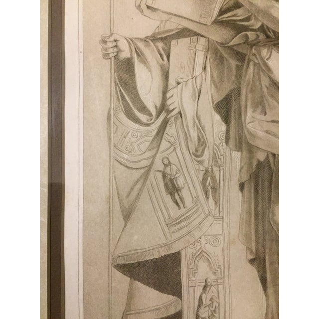 Late 18th Century 1770 Antique Giovanni Bellini Mezzotint Print For Sale - Image 5 of 8