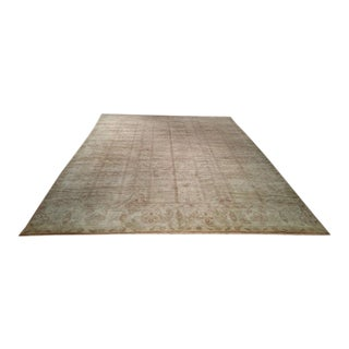 12′ × 15′8″ Beautiful Gold Rose Color Rug - Size Cat. 12x15 12x18 For Sale