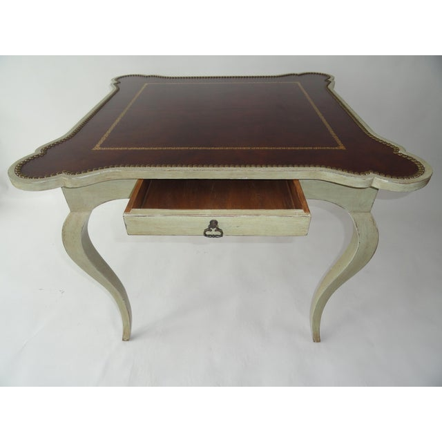 Traditional 1980s Traditional Minton-Spidell Game Table For Sale - Image 3 of 10