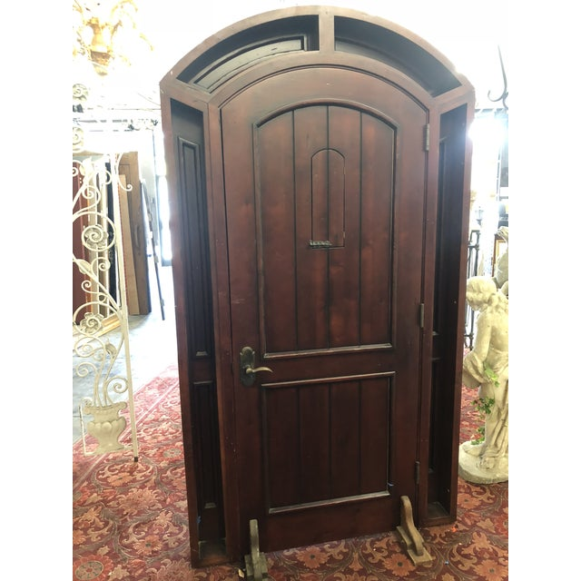 This Is A Beautiful Reion Door In The Frame Has Great Style Terranean Spanish Arched