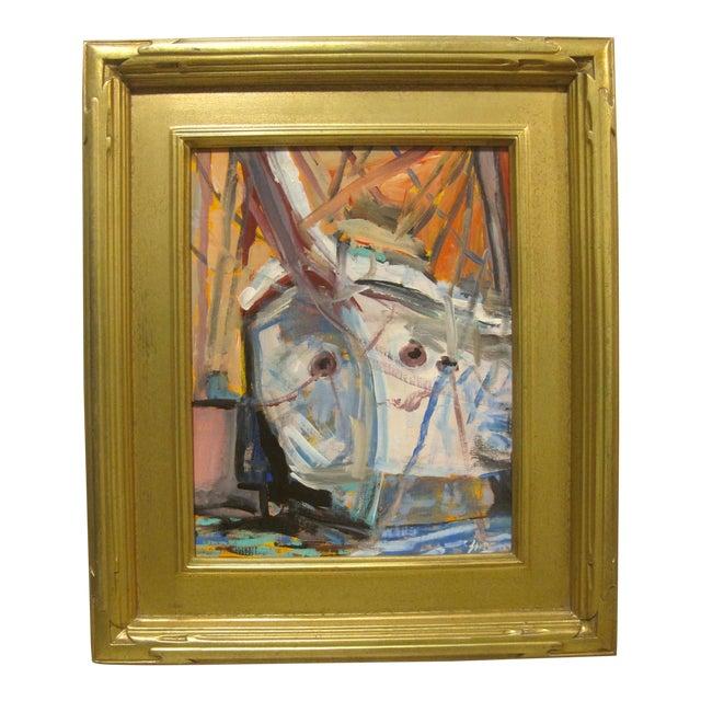 Juan Guzman Newport Beach Balboa Island Boats Painting For Sale